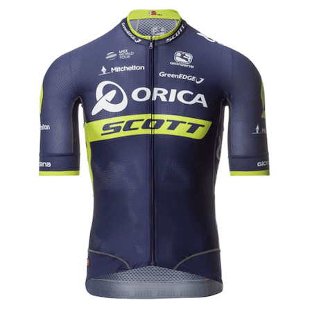 CompetetiveCyclist.com promo Mens Fr-c Pro Orica Mitchelton Scott Team Jersey on sale for 49.95 image