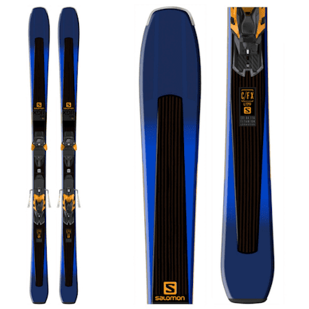 SummitSports.com promo Salomon Xdr 84 Ti Skis With Warden Mnc 13 Bindings on sale for 499.95 image